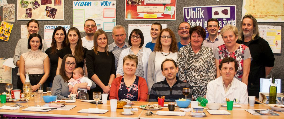 Department of Chemistry team at University of Ostrava
