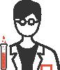 laboranti pictogram